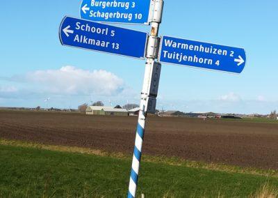 Schoorl Alkmaar Burgerbrug Schagerbrug Warmenhuizen Tuitjenhorn